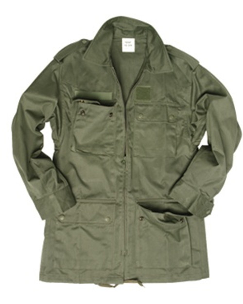 French OD Field Jacket - Used from Hessen Surplus