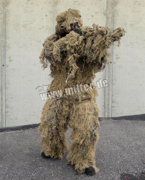 Desert Camo Ghille Suit from Hessen Antique