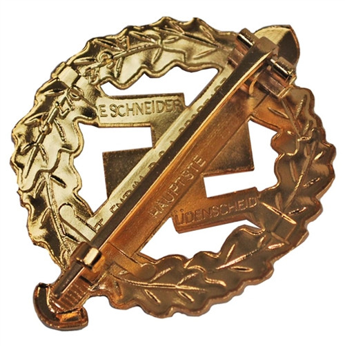 SA Sports Badge (Gold) from Hessen Antique