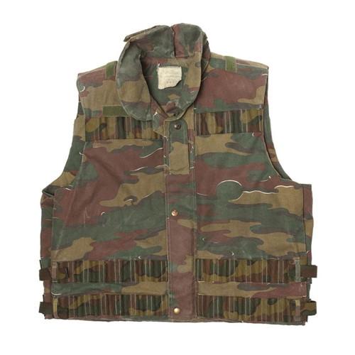 Belgium Army Modular Camo Vest from Hessen Antique