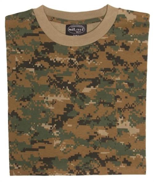 Mil-Tec Digital Camo T-Shirt from Hessen Tactical