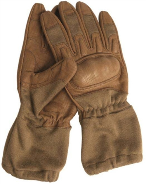 Mil-Tec Coyote Flame Resistant Action Gloves - New from Hessen Antique