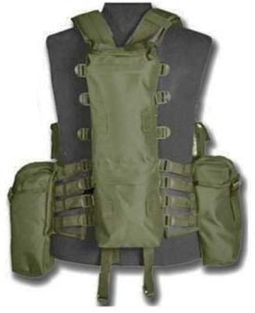 Mil-Tec 12 Pocket Tactical Vest  from Hessen Antique