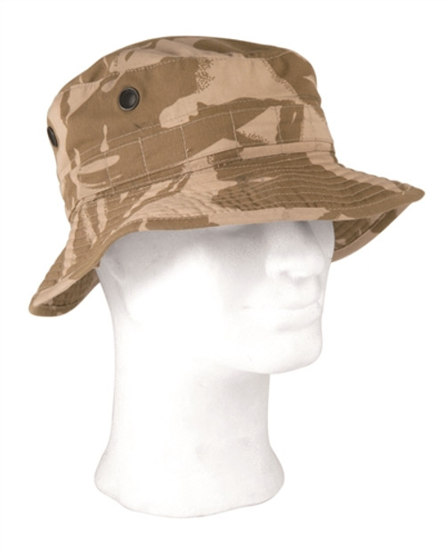 British Desert Camo Boonie Hat - Used from Hessen Antique