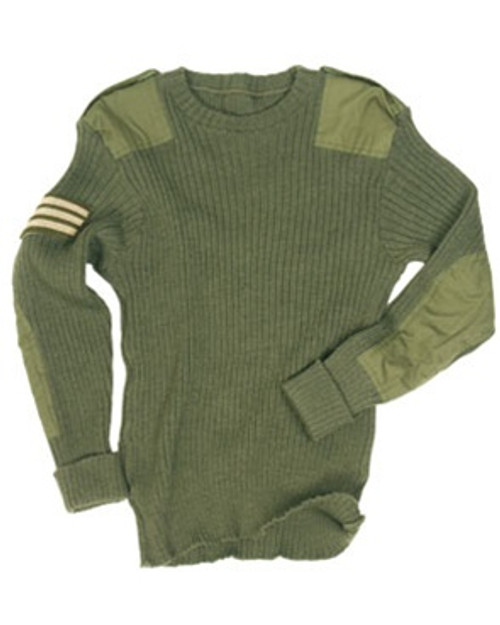 British OD Commando Sweater from Hessen Antique