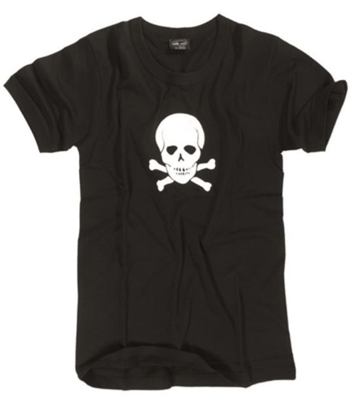 MIL-TEC Skull And Cross Bones T-Shirt from Hessen Surplus