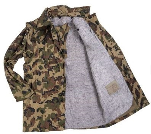 Romanian Army Camo Parka - Used from Hessen Surplus