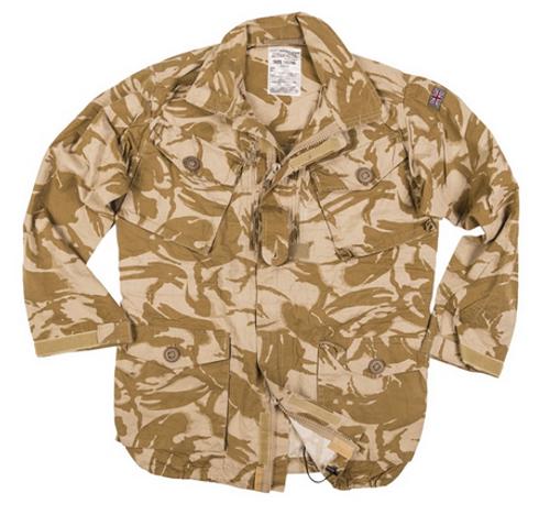 British Desert Camo Field Jacket from Hessen Surplus