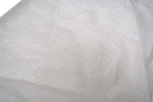 Italian Army White Linen Cloth Hand Towel from Hessen Antique