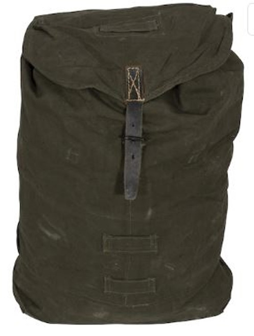 Hungarian Army OD Canvas Rucksack  from Hessen Antique