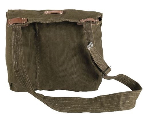 Romanian Army OD Canvas Haversack from Hessen Antique