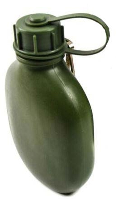 Finnish Army .7 Liter OD Plastic Canteen from Hessen Antique