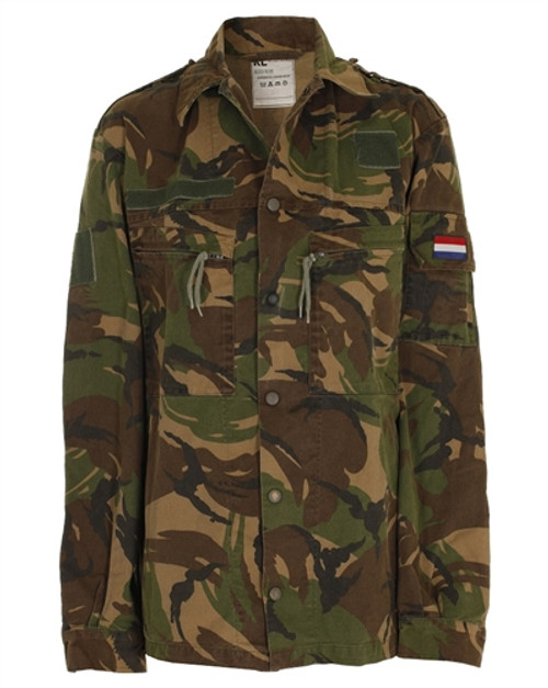 Dutch Camo Field Jacket from Hessen Surplus