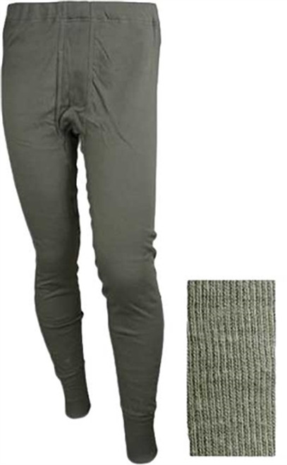 BW OD Fleece Knit Long Johns from Hessen Antique