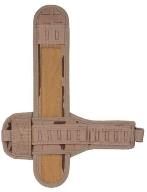 Czech Desert Camo MOLLE Leg Platform - Left Side