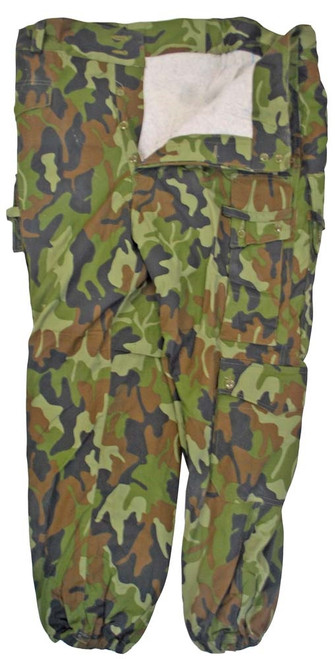 Romanian Army Camo Field Pants - Used from Hessen Surplus