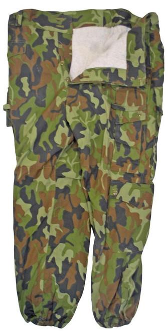 Romanian Army Camo Field Pants - Used from Hessen Surplus
