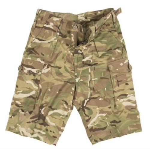 British MTP Camo Shorts from Hessen Surplus
