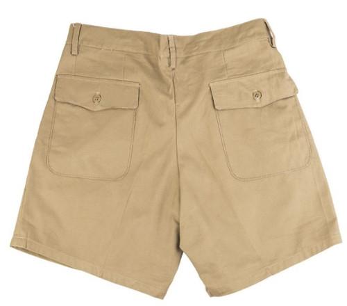 Italian Army Khaki Shorts - Used From Hessen Antique