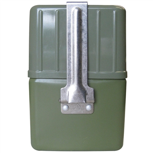 Serbian Army 4 Piece OD Mess Kit With Carry Pouch from Hessen Surplus