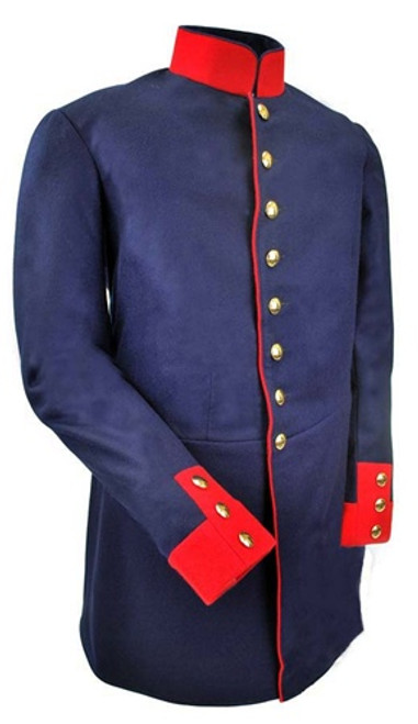 Dunkelblau Prussian Dress Tunic from Hessen Antique