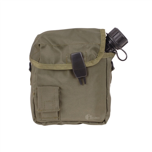 MOLLE compatible cover for the 2 Quart canteen in ACU digital camouflage.  MILSPEC materials and construction.