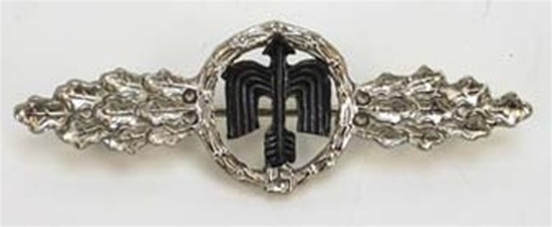 Luftwaffe Day Fighter Clasp - Silver from Hessen Antique
