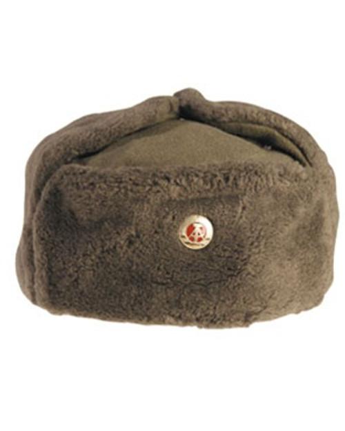 East German Army EM Winter Hat - from Hessen Surplus