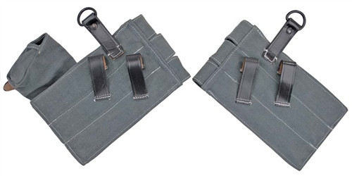 MP 38 u. 40 Ammo Pouches from Hessen Antique