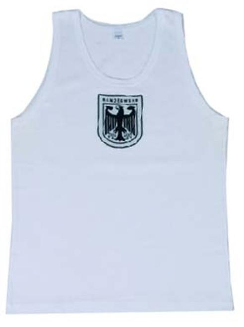 Bw White Tank Top from Hessen Surplus