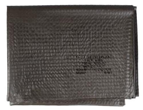 Bw O.D. Sleeping Bag Tarpaulin Underlay  from Hessen Antique