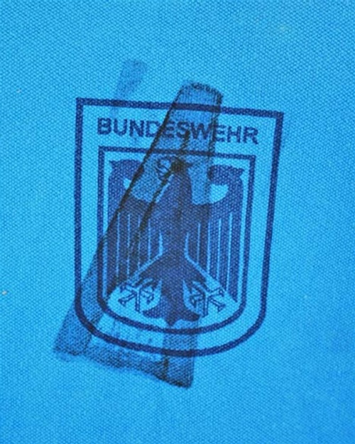 BW Blue PT Shirt from Hessen Surplus