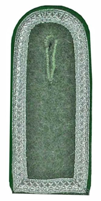 WH NCO Shoulder Boards on Field-Grey wool - Mid War