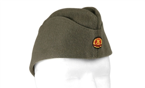 East German Army EM Overseas Hat - Like New from Hessen Surplus