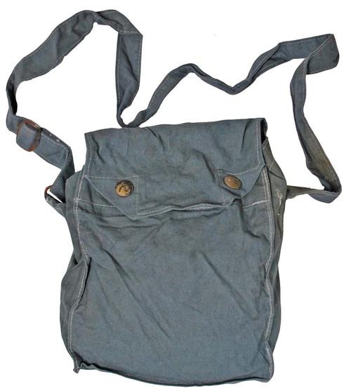 Swedish Grey Gas Mask Bag  from Hessen Antique