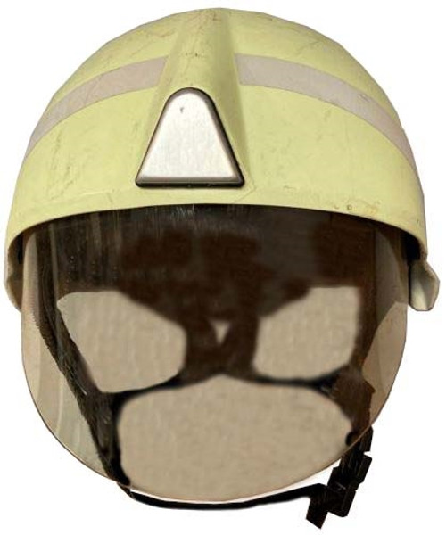 Modern German Fireman's Helmet -  Half Face Shield from Hessen Antique