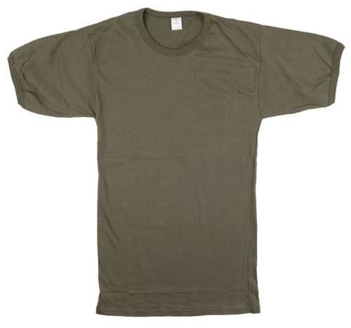 Italian Army OD T-Shirt - Size Medium from Hessen Surplus