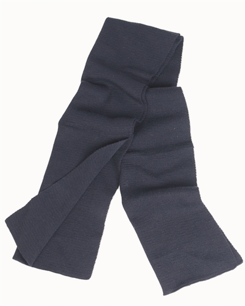 BW Blue Wool Scarf from Hessen Antique