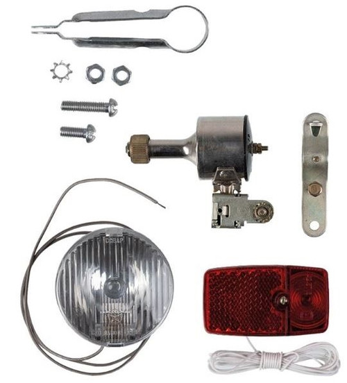 Russian Bicycle Light Kit from Hessen Antique