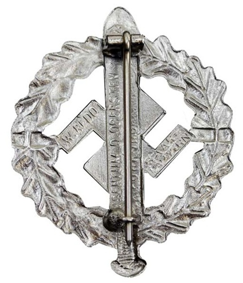 SA Sports Badge (Silver) from Hessen Antique