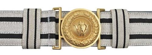 Prussian Officer's Brocade Belt & Buckle from Hessen Antique