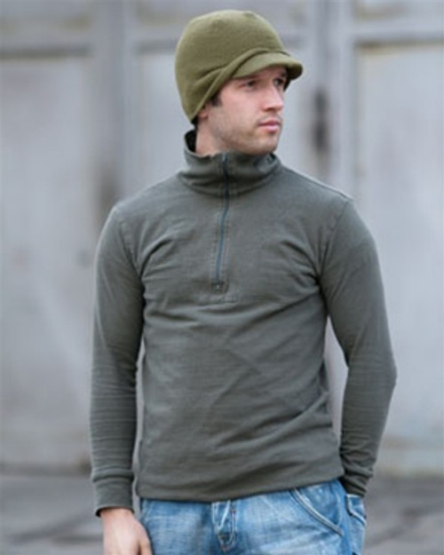 German OD Orig. Tricot Shirt Field Shirt from Hessen Surplus