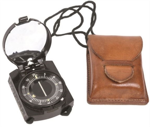 Polish Army Compass With Case