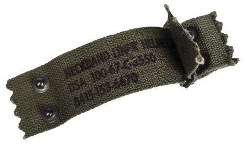 US M1 Helmet Liner Nape Strap from Hessen Antique