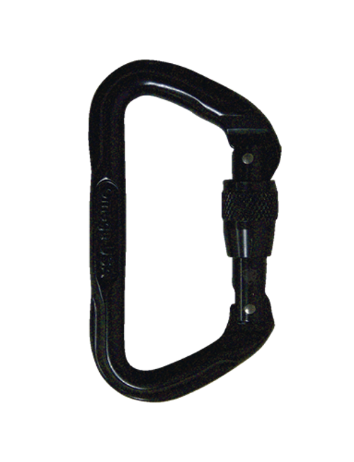7000 SERIES STANDARD D SCREW-LOK  CARABINER