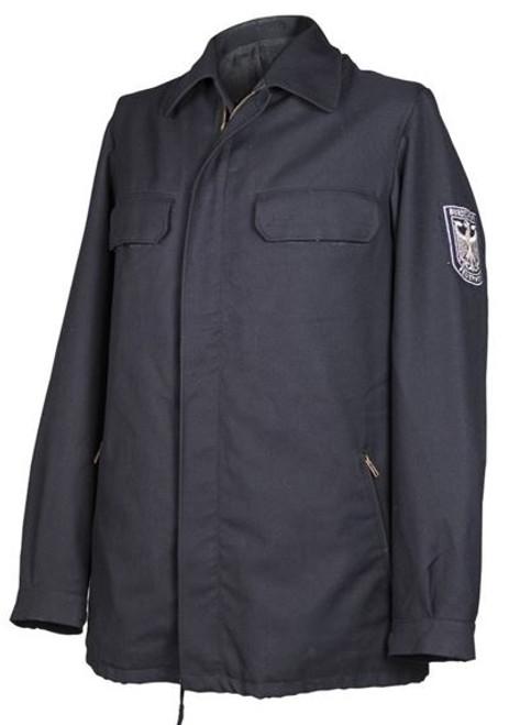 German Fire Service Blue Jacket from Hessen Surplus