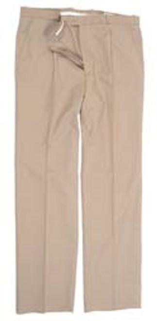 German Khaki Tropical Service Uniform Pants - Used from Hessen Surplus