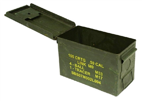 US GI 50-CAL. AMMO CAN - USED