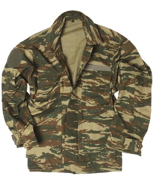 Greek Camo Field Jacket from Hessen Antique