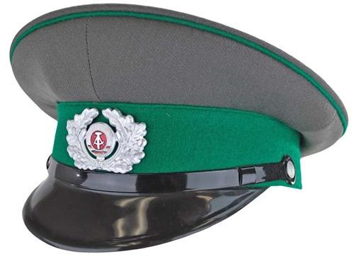 East German Boarder Guard Visor Hat - Like New from Hessen Surplus